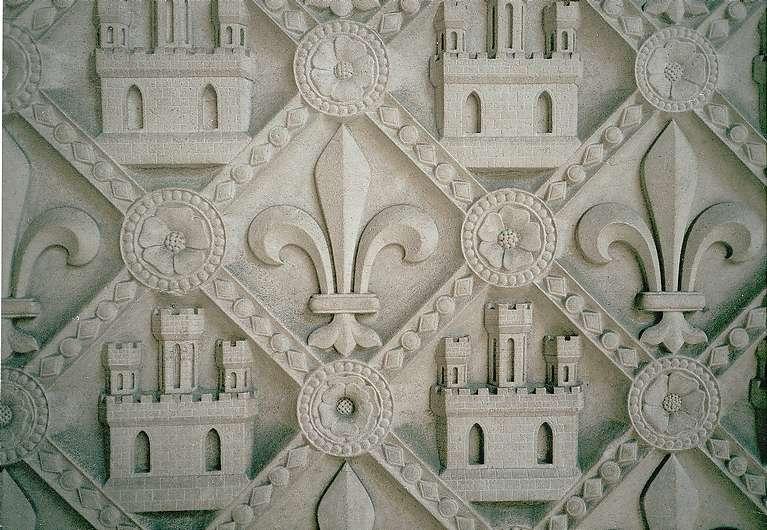 Sainte Chapelle Exterior Stone Work